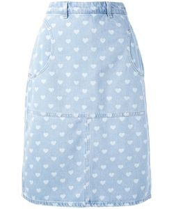 Diesel | Denim Heart Skirt 26 Cotton