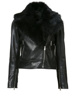 Rebecca Vallance | The Wolfe Biker Jacket 10 Leather/Sheep