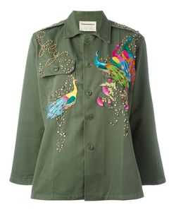 Night Market | Peacock Studded Jacket Cotton