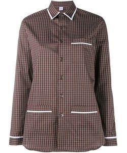 MARIE MAROT | Kate Checked Shirt Women