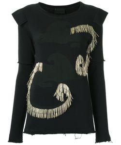 Andrea Bogosian | Embellished Sweatshirt Size G