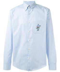 Gucci   Embroide Striped Shirt 38 Cotton