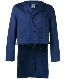GANRYU COMME DES GARCONS   Work Cropped Front Jacket