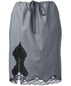 Alexander Wang | Lace Trim Skirt