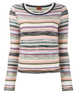 Missoni | Knitted Stripe Top 46 Wool/Rayon