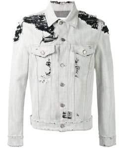 Golden Goose | Deluxe Brand Distressed Denim Jacket Size Large