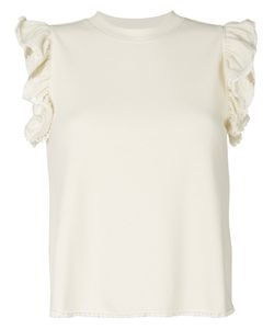 See By Chloe | Frill Sleeve T-Shirt