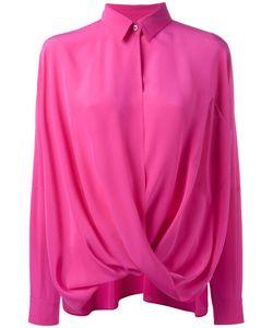 Moschino | Шелковая Драпированная Рубашка