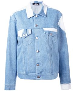 Jeremy Scott | Face Print Denim Jacket Cotton/Other