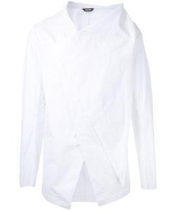 MOOHONG | Front Draped Shirt Size 48