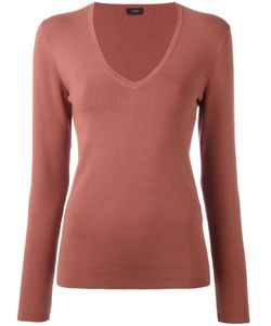 Joseph | Knit V-Neck Top Size Xl