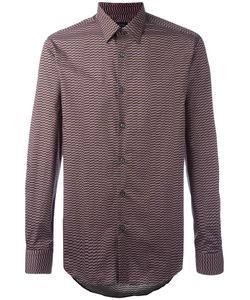 Pal Zileri | Geometric Print Shirt 41