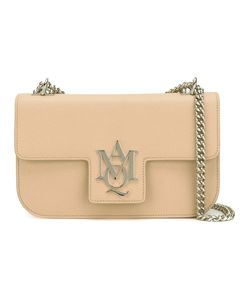 Alexander McQueen | Insignia Chain Satchel Calf Leather/Metal Other