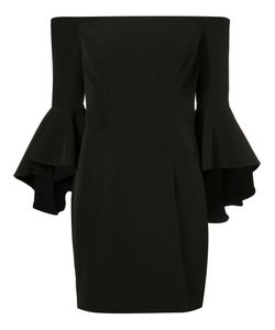 Milly | Flared Sleeve Fitted Dress Size 12