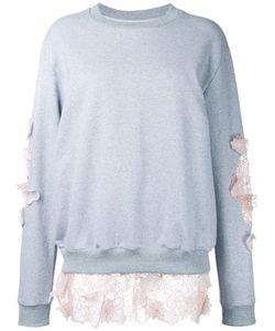 ANOUKI | Lace Inserts Sweatshirt