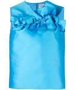 Maison Rabih Kayrouz   Ruffled Trim Top 36 Silk/Polyester