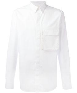 Givenchy   Flap Pocket Shirt 40 Cotton/Silk/Polyester