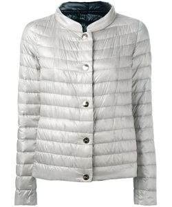 Herno | Collarless Puffer Jacket 42 Feather Down/Polyamide