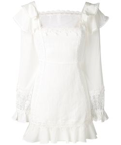 For Love & Lemons | Lace Detail Mini Dress