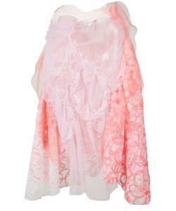 Tricot Comme des Garçons | Comme Des Garçons Tricot Gathered Lace Skirt