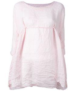 DANIELA GREGIS | Front-Tie Fla Blouse Linen/Flax
