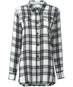 OFF-WHITE | Plaid Shirt Xs Silk