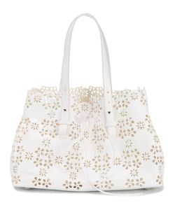 Simone Rocha | Laser Cut Shoulder Bag Leather