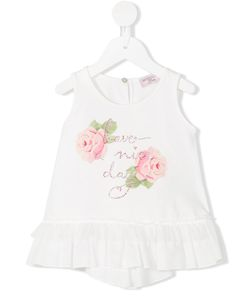 Mona Lisa | Monnalisa Have A Nice Day Tank Top Infant 6 Mth