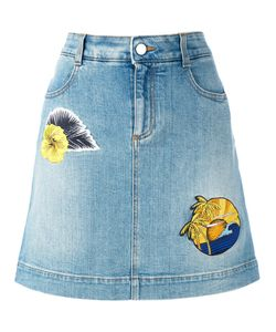 Stella Mccartney | Patch Denim Skirt