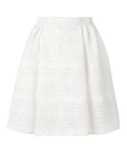 Red Valentino | Elasticated Waist A-Line Skirt Size