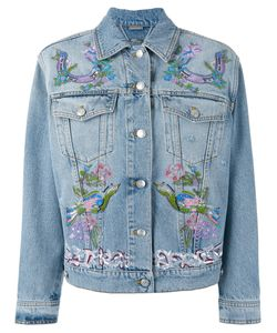 Alexander McQueen | Embroide Jacket 40 Cotton/Plastic/Glass