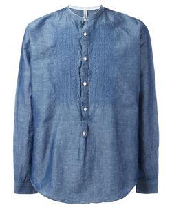 DNL | Embroide Shirt 42 Linen/Flax/Cotton