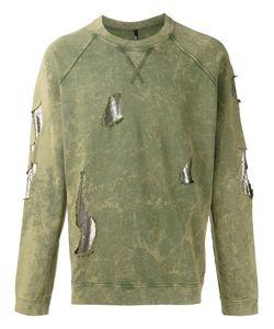 Versus | Distressed Sweatshirt S