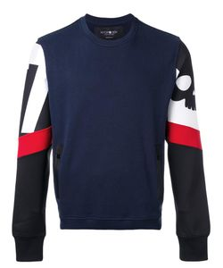 Hydrogen | Techno Sweatshirt Medium Cotton/Polyester/Spandex/Elastane