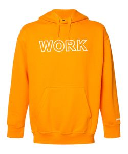 Andrea Crews | Work Print Hoodie Medium Cotton/Polyester