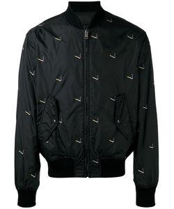 Alexander Wang | Cigarette Print Bomber Jacket Size