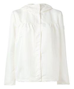 Moncler Gamme Rouge   Куртка С Капюшоном И Потайной Застежкой