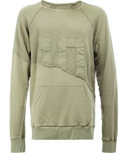 GREG LAUREN | Panelled Sweatshirt 4 Cotton