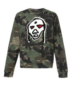 HACULLA | Camouflage Print Sweatshirt Large Cotton