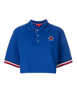 Hilfiger Collection | Cropped Logo Polo Shirt Women