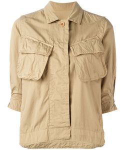 Sacai | Crinkled Military Jacket 2 Cotton