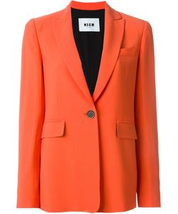 MSGM | One Button Blazer Size