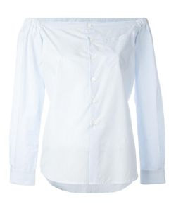 Diesel Black Gold | Off-Shoulder Shirt 40 Cotton