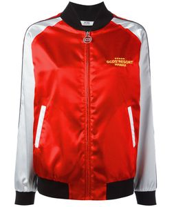 Gcds | Embroidered Beach Bomber Jacket Size Medium
