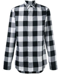Dior Homme | Concealed Fastening Checked Shirt Size 38