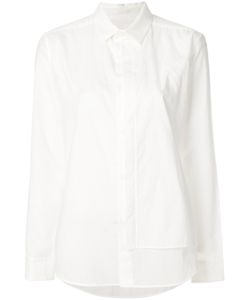 Y'S | Flap Button Front Shirt Women