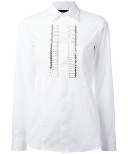 Dsquared2 | Safety Pin Tuxedo Shirt 42 Cotton