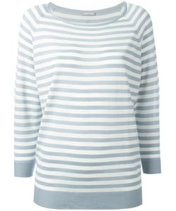 Hemisphere | Striped Sweatshirt 40 Merino