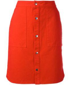 Vanessa Bruno Athe'   Vanessa Bruno Athé Buttoned Skirt