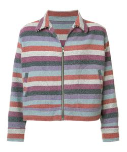 The Elder Statesman | Striped Jacket Size Medium